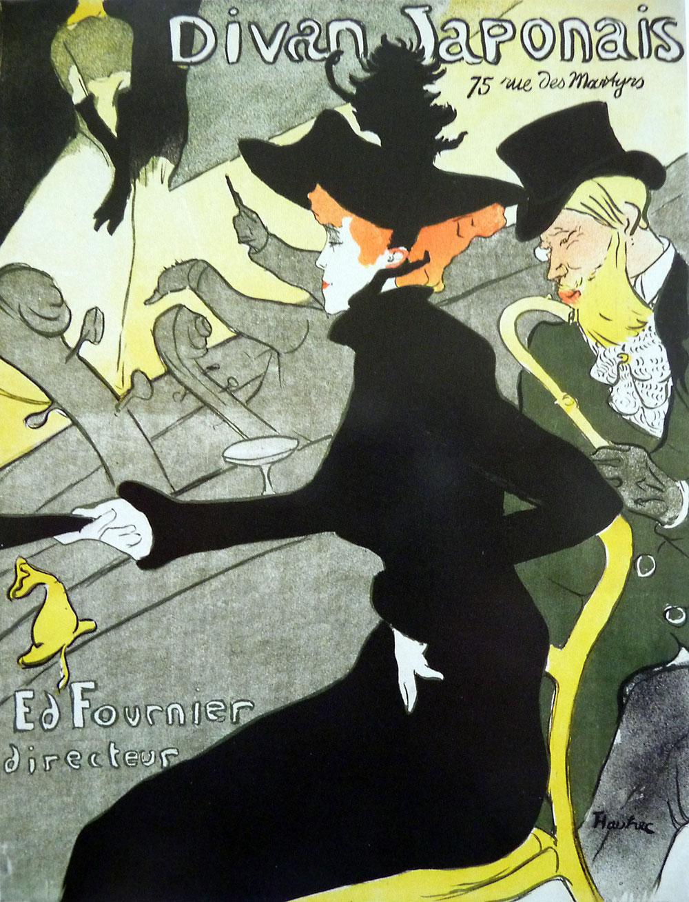 Farblithographie von Henri de Toulouse-Lautrec