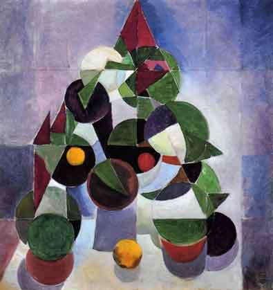 Theo van Doesburg1883 - 1931 | Komposition I | Van Doesburg schuf geometrisch aufgebaute Gemälde und gehörte somit zu den Mitbegründern der abstrakten Malerei.
