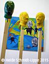 Installation Masken© Heide Schmidt-Lippe